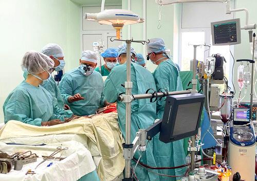 На Хмельниччині під час надскладної операції пацієнтку охолодили до 24 °С