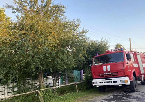 У Шепетівському районі на згарищі виявили тіло селянина