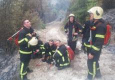 Надзвичайники Хмельниччини гасять пожежі в лісових масивах Греції
