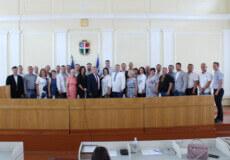 На сесії Шепетівської районної ради вітали з Днем Незалежності