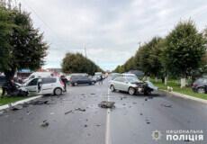 На Хмельниччині внаслідок ДТП травмувалася 72-річна пасажирка