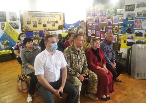 У Шепетівці вшанували пам'ять загиблого атовця з позивним «Ясний»