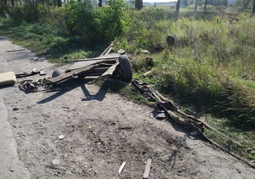 На Шепетівщині внаслідок ДТП травмувався чоловік, що перебував на підводі