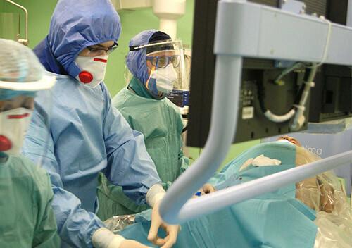 На Хмельниччині COVID-19 не став на заваді порятунку пацієнта з гострим коронарним синдромом