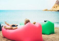 Надувні меблі здатні забезпечити комфортний відпочинок