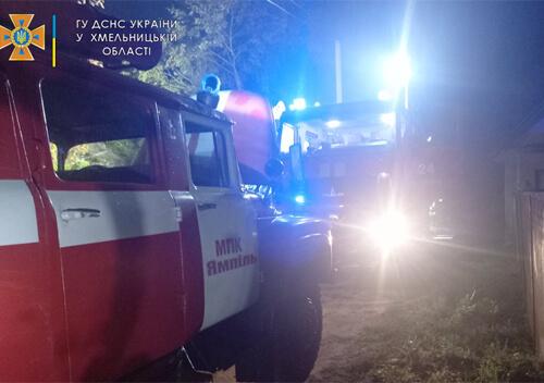 На Шепетівщині в одному і тому ж селищі двічі від вогню рятували сараї