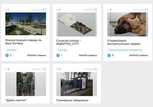 Мешканці Шепетівської ТГ можуть голосувати за проєкти Громадського бюджету
