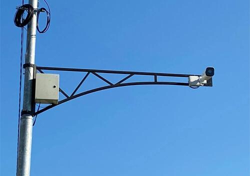 В одній з громад Шепетівшини міська камера зафіксувала учасника ДТП