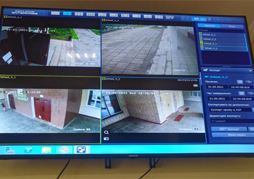У Нетішині встановили аналітичні та оглядові камери спостереження
