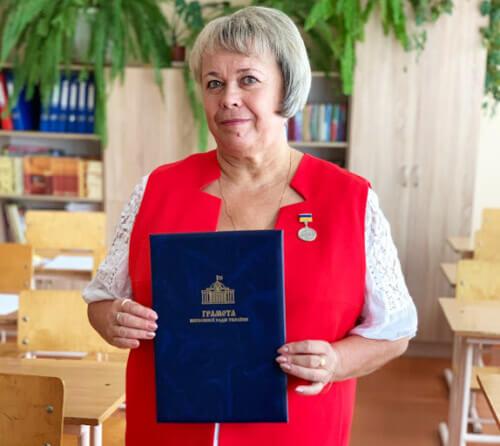 Вчительку однієї зі шкіл Шепетівки відзначили у Верховній Раді України