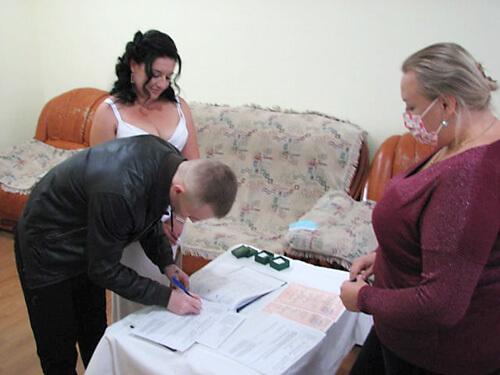 У виправній колонії на Хмельниччині зареєстрували шлюб