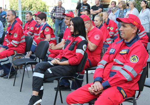 Шепетівська бригада парамедиків здобула призове місце на обласних змаганнях