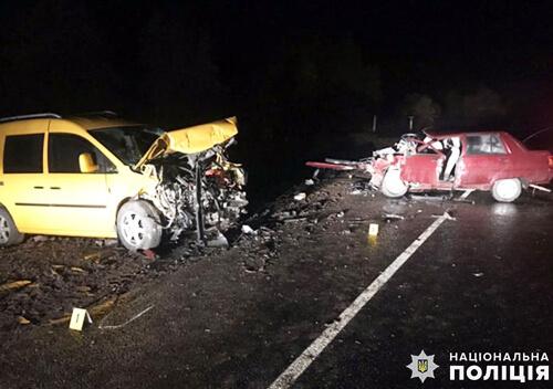 На Хмельниччині внаслідок ДТП загинула 67-річна пасажирка