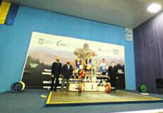 Юнак з Шепетівки здобув срібло чемпіонату України з важкої атлетики