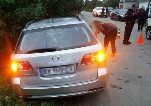 На Хмельниччині п'яний водій на смерть збив пенсіонера