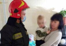 У Шепетівці надзвичайники врятували 2-річну дитину