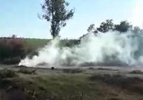 На Хмельниччині під час рейдів «на гарячому» затримали тих, хто спалював суху рослинність