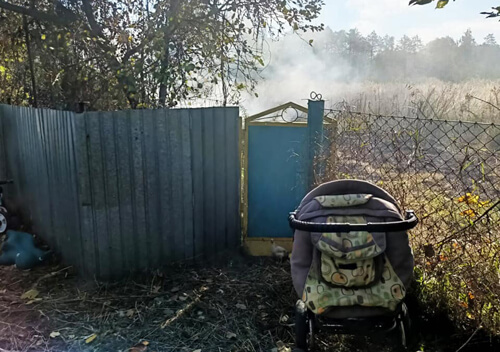 На Шепетівщині через спалювання сміття могли постраждати двоє дітей