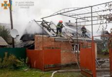 На Шепетівщині через несправність газових приладів горів будинок