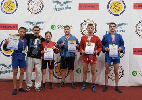 Самбісти Хмельниччини здобули 17 медалей на чемпіонаті Європи