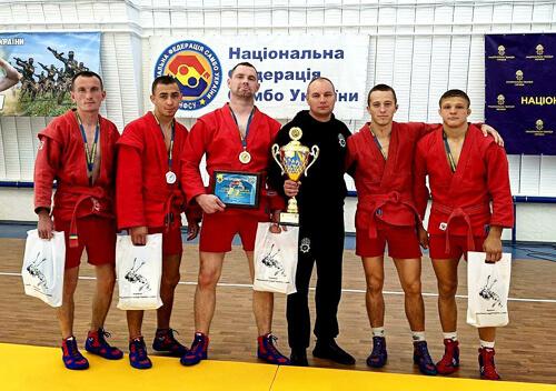 Нетішинські нацгвардійці здобули першість України з самбо