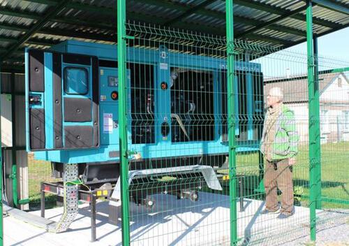 Два лікарняні корпуси Славутської лікарні підключили до дизельного генератора