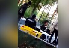 На Хмельниччині чоловік вдягнув поліцейську форму, щоб зняти комедійне відео